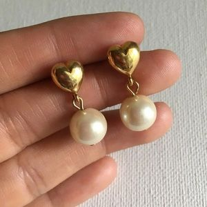 Vintage Pearl Earrings